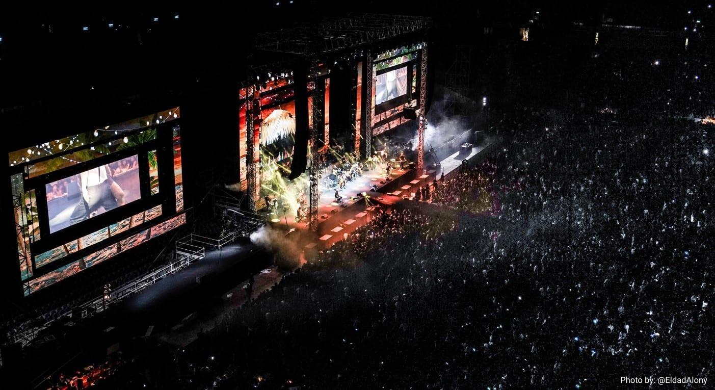 הופעה חיה ממבט על באצטדיון סמי עופר